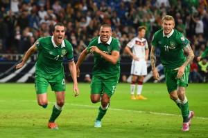 John O'Shea Scores V Germany