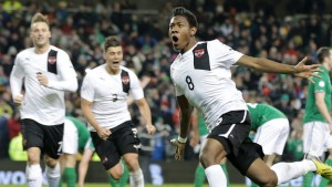 David Alaba Scores Against Ireland