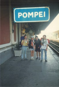 Irish Fans in Pompeii Italia '90