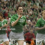 Robbie Keane v Albania 2003