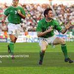 Robbie Keane v Finland 2002