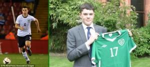 Michael Keane - Ireland England