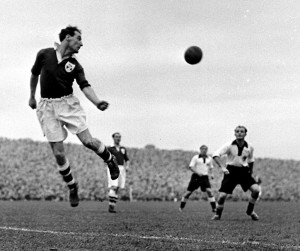 Florrie Burke 1951 v Germany