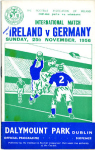 Ireland v Germany 1956