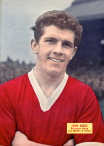 Johnny Giles - Man Utd - 1960