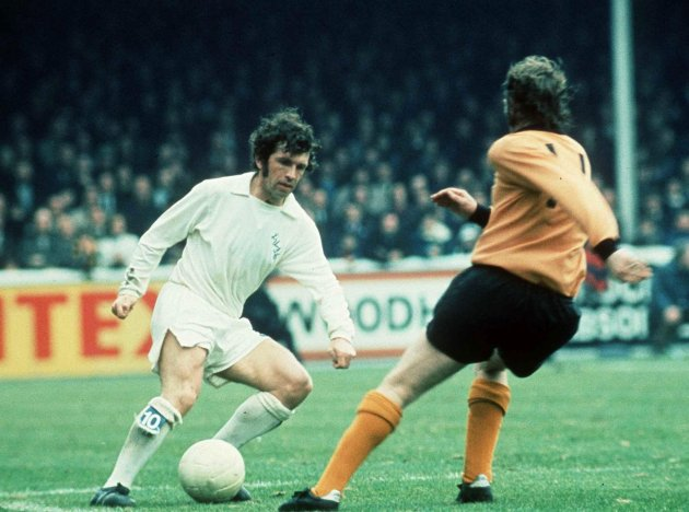 Johnny Giles at Leeds